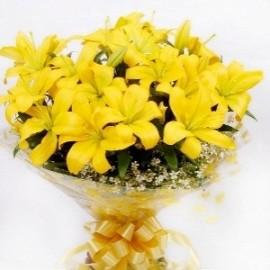 Эти желтые лилии!